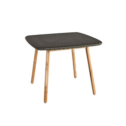 Round Dining table weaving top | Tavoli da pranzo da giardino | Point