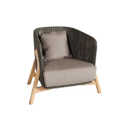 Round Club armchair | Garden armchairs | Point