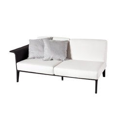 U Module sofa 2 right arm | Garden sofas | Point