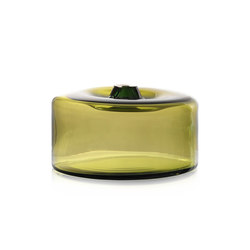 cylinder vessel extra large green | Objects | SkLO