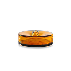 cylinder vessel medium amber | Objects | SkLO