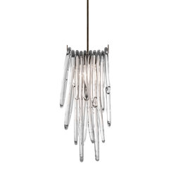 double lasso pendant light dark oxidized clear | Illuminazione generale | SkLO