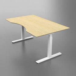 Flow Sit/Stand Desk | Escritorios individuales | Cube Design