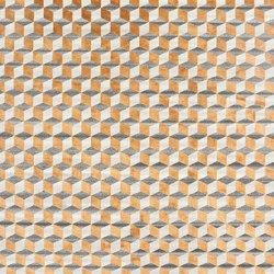 Mini infini soie copper | Formatteppiche / Designerteppiche | cc-tapis