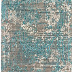 Traces d'aubusson dark petrol | Rugs / Designer rugs | cc-tapis