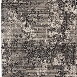 Traces d'aubusson custom black | Tapis / Tapis design | cc-tapis