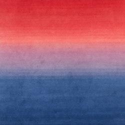 Tye 'n dye red-indigo | Tappeti / Tappeti d'autore | cc-tapis