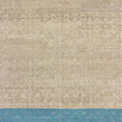 Dipped Lotto petrol | Rugs / Designer rugs | cc-tapis