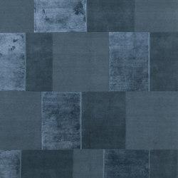Casellario Monocromo teal | Alfombras / Alfombras de diseño | cc-tapis