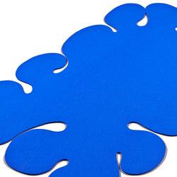 Blauer Klecks | Formatteppiche / Designerteppiche | fräch