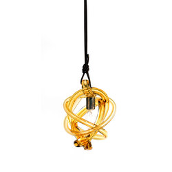 wrap pendant light amber dark oxidized | Illuminazione generale | SkLO