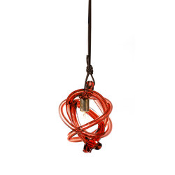 wrap pendant light red dark oxidized | Illuminazione generale | SkLO