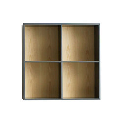 Quadro Bookcase | Office shelving systems | Cube Design