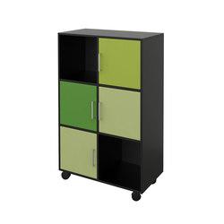 Quadro Bookcase | Büroschränke | Cube Design