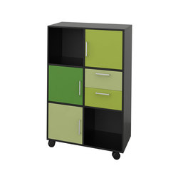 Quadro Bookcase | Archivadores | Cube Design