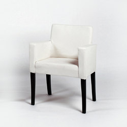 Andrew armchair | Visitors chairs / Side chairs | Lambert