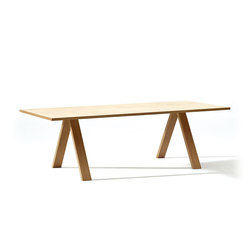 Cross Table | Tables de lecture | Arper