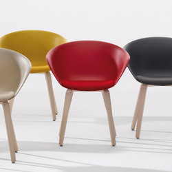Duna 02 | Visitors chairs / Side chairs | Arper