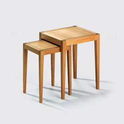 Domino I side table | Mesas nido | Lambert