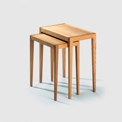 Domino III side table | Mesas nido | Lambert
