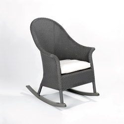 San Remo rocking chair | Garden armchairs | Lambert