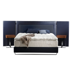 Schlafsystem Kollektion Platinum | Kopfteil Escale | Double beds | Treca Interiors Paris