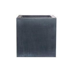 Zinc Cubic | Pflanzgefäße | Domani
