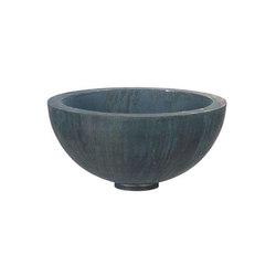 Zinc Half Bowl | Pflanzgefässe | Domani