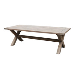 Luxor 100cm x 240cm Table | Tables à manger de jardin | Akula Living