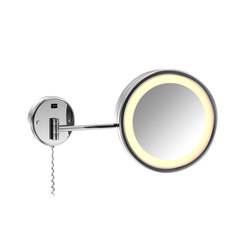 650 9020 LED-Lighted makeup mirror | Shaving mirrors | Steinberg
