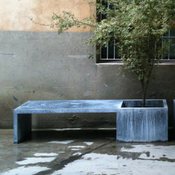 Zinc Furniture In/Out | Fioriere | Domani
