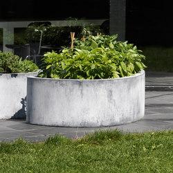 Zinc Low Labyrinth | Pflanzgefässe | Domani