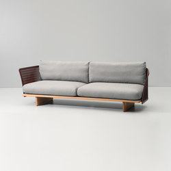 Mesh 3-seater sofa | Sofás de jardín | KETTAL