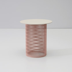 Mesh side table Ø 48 | Mesas auxiliares de jardín | KETTAL