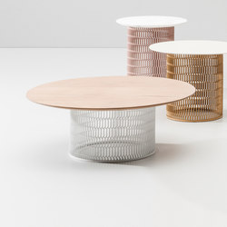 Mesh side table | Mesas de centro de jardín | KETTAL