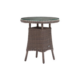 Colonial 70cm Round Table | Tables de bistrot de jardin | Akula Living