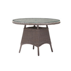 Colonial 110cm Round Table | Garten-Esstische | Akula Living