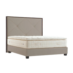Sleeping Systems Platinum | Headboard Carat Brut | Double beds | Treca Paris
