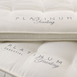 Sleeping Systems Collection Platinum | Mattress topper Yearling | Mattress toppers | Treca Paris
