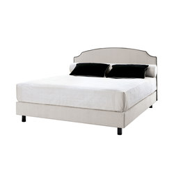 Sleeping Systems Collection Prestige | Headboard Louis XVI | Double beds | Treca Paris