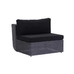 Biscay Sanctuary Modular Center Unit | Garden armchairs | Akula Living