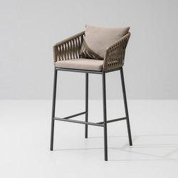 Bitta bar stool | Taburetes de bar de jardín | KETTAL