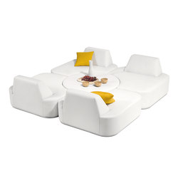 Moon Island | Modular seating elements | Manutti