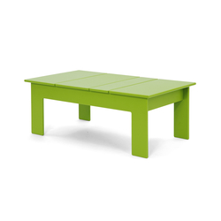 Lollygagger Coffee Table rectangle | Tables basses de jardin | Loll Designs