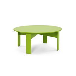 Lollygagger Coffee Table round | Mesas de centro de jardín | Loll Designs