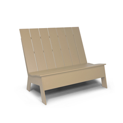 Picket High Back double | Garden benches | Loll Designs