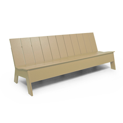 Picket Low Back 7 ́ | Garden benches | Loll Designs