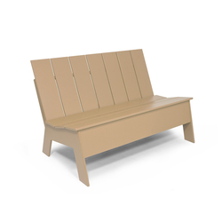 Picket Low Back double | Garden benches | Loll Designs