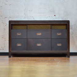 Abuelo Console - 6 Drawer | Caissons | DLV Designs