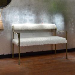 Giac Settee - Bolster Back | Waiting area benches | DLV Designs